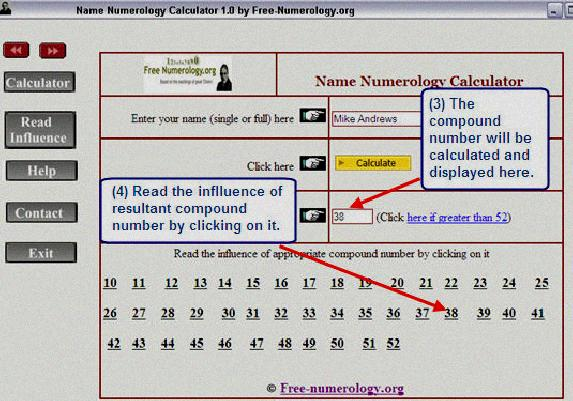 free online name numerology calculator