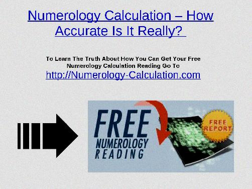 Numerology Business Name Calculator Free - Numerology